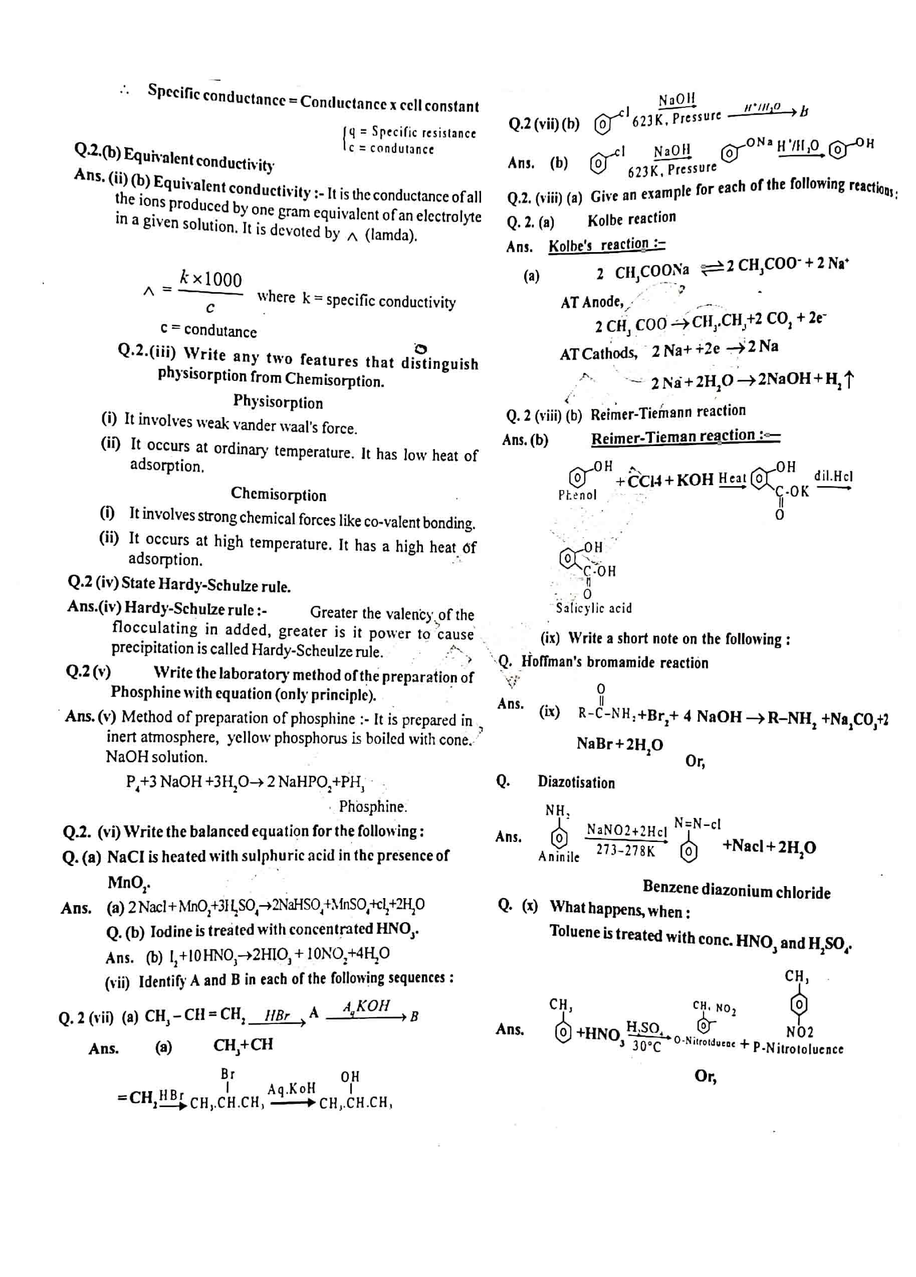 JAC Class 12 chemistry 2012 Question Paper 02