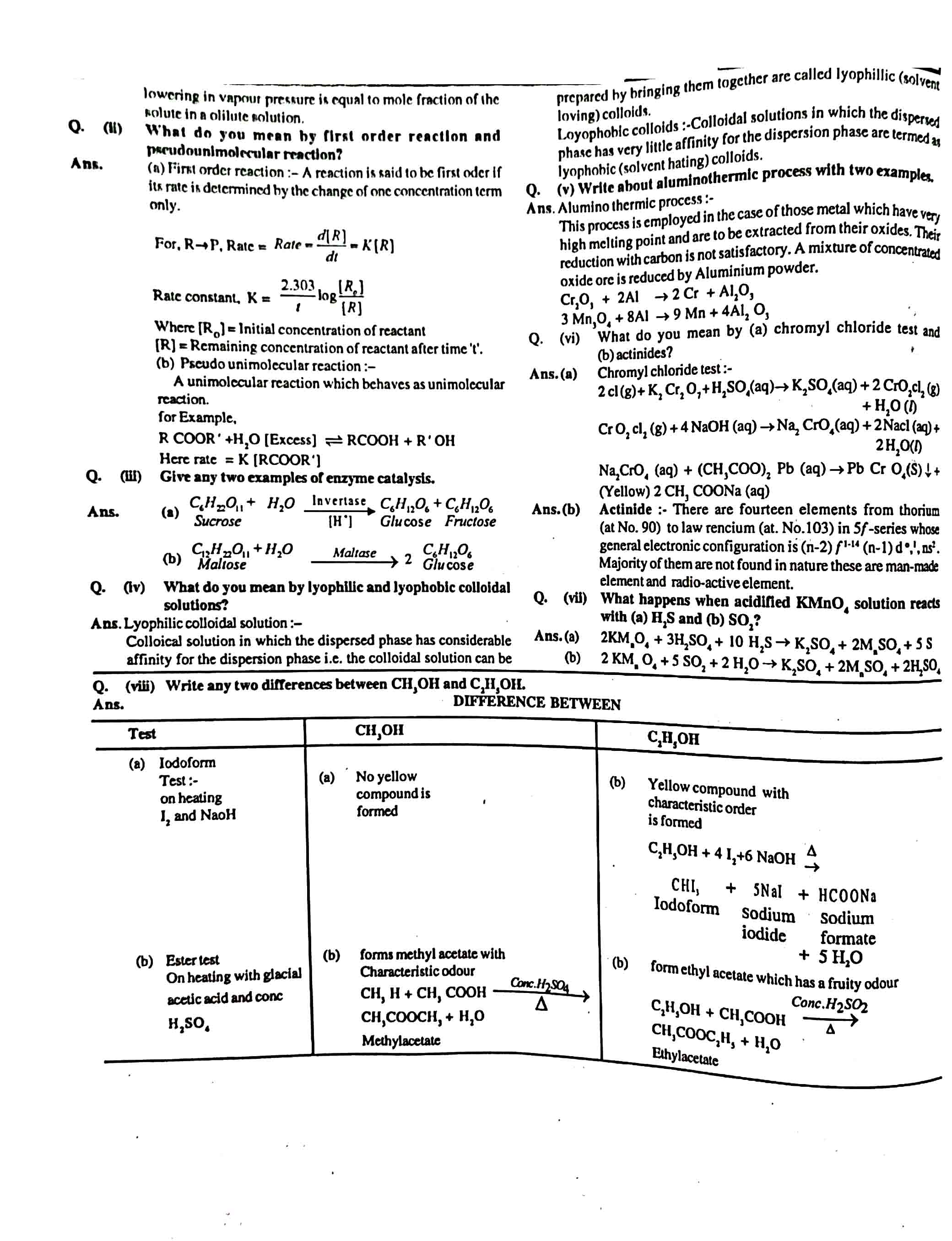 JAC Class 12 chemistry 2013 Question Paper 02