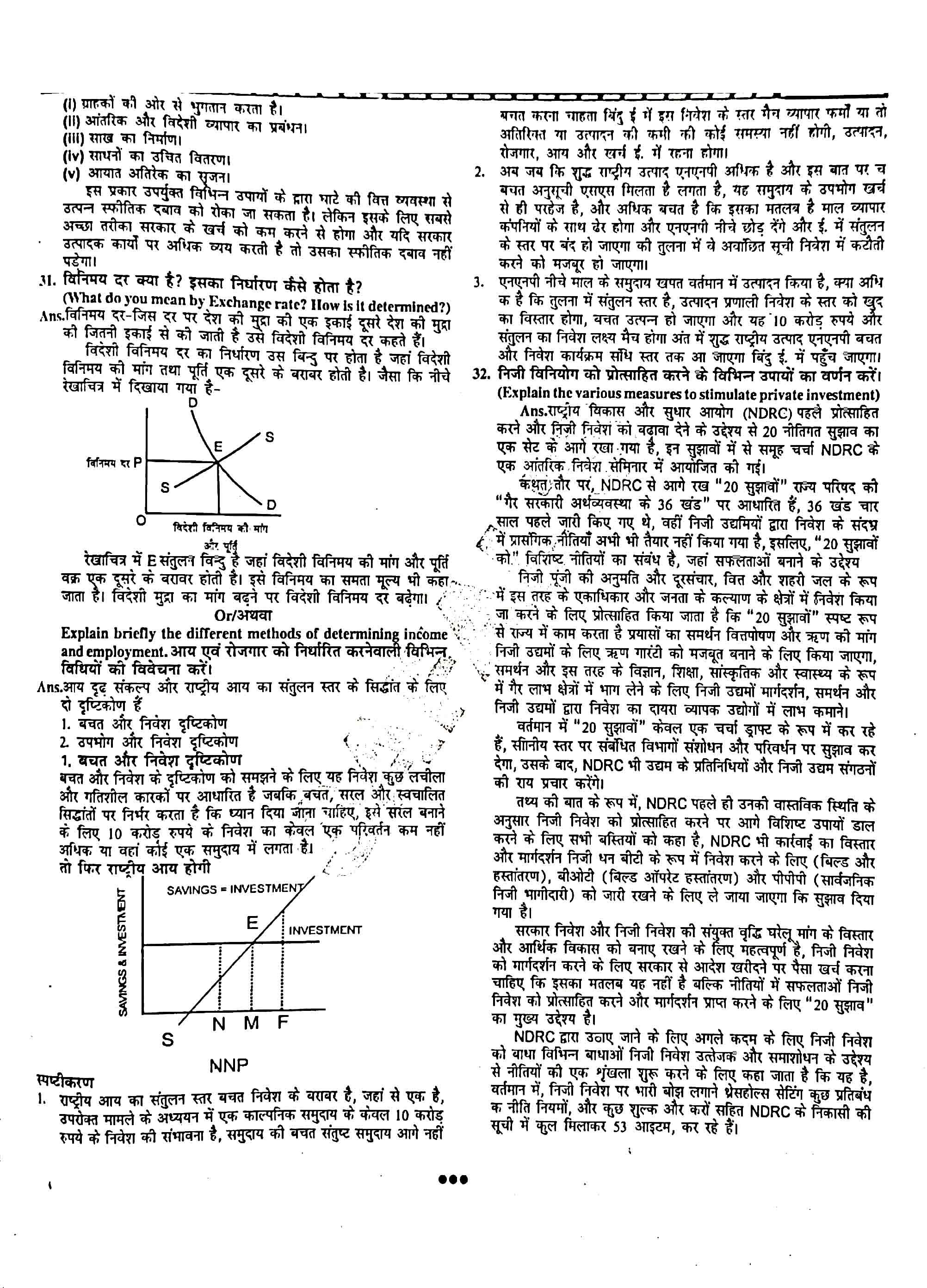 JAC Class 12 economics 2013 Question Paper 04