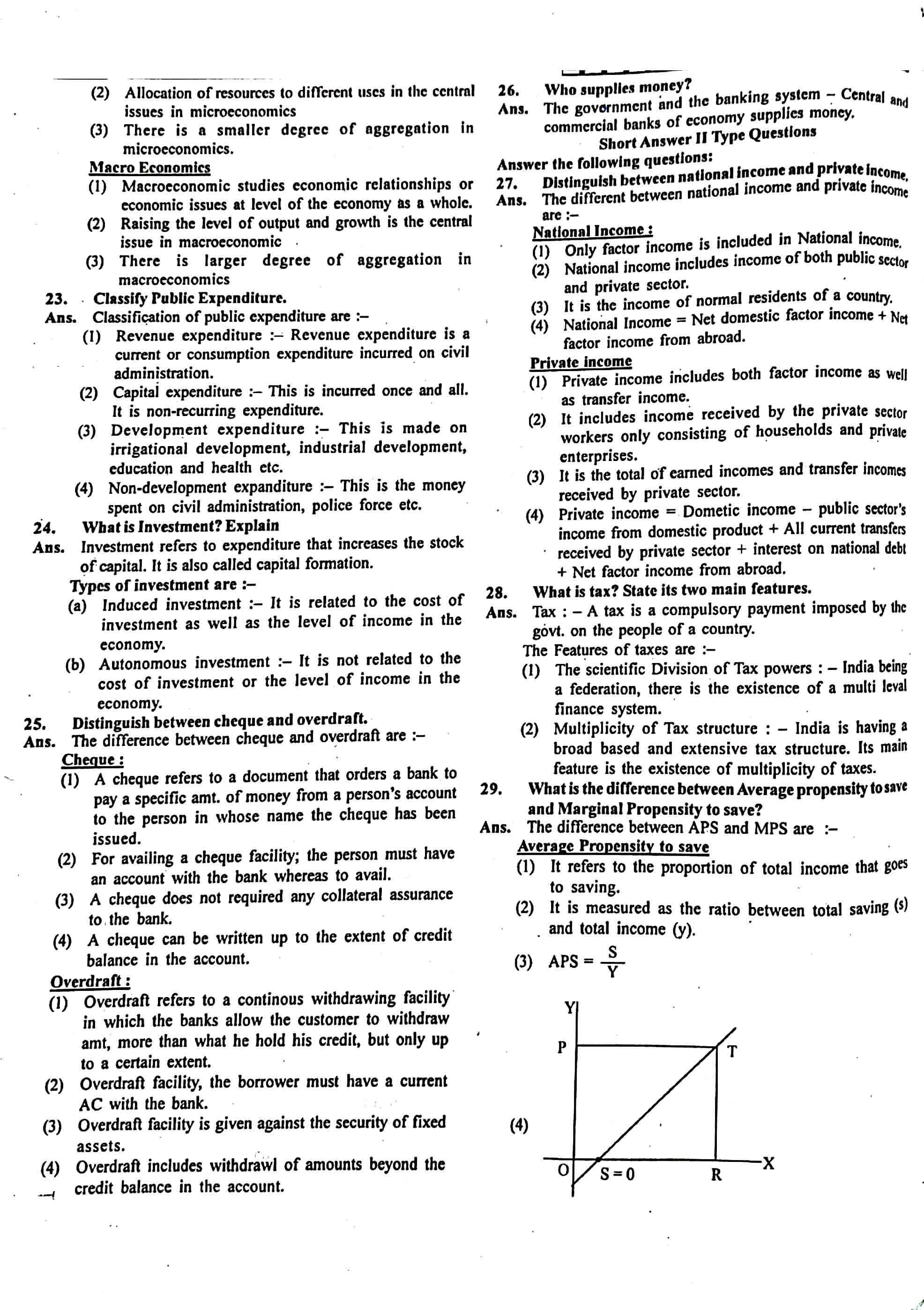JAC Class 12 economics 2014 Question Paper 03