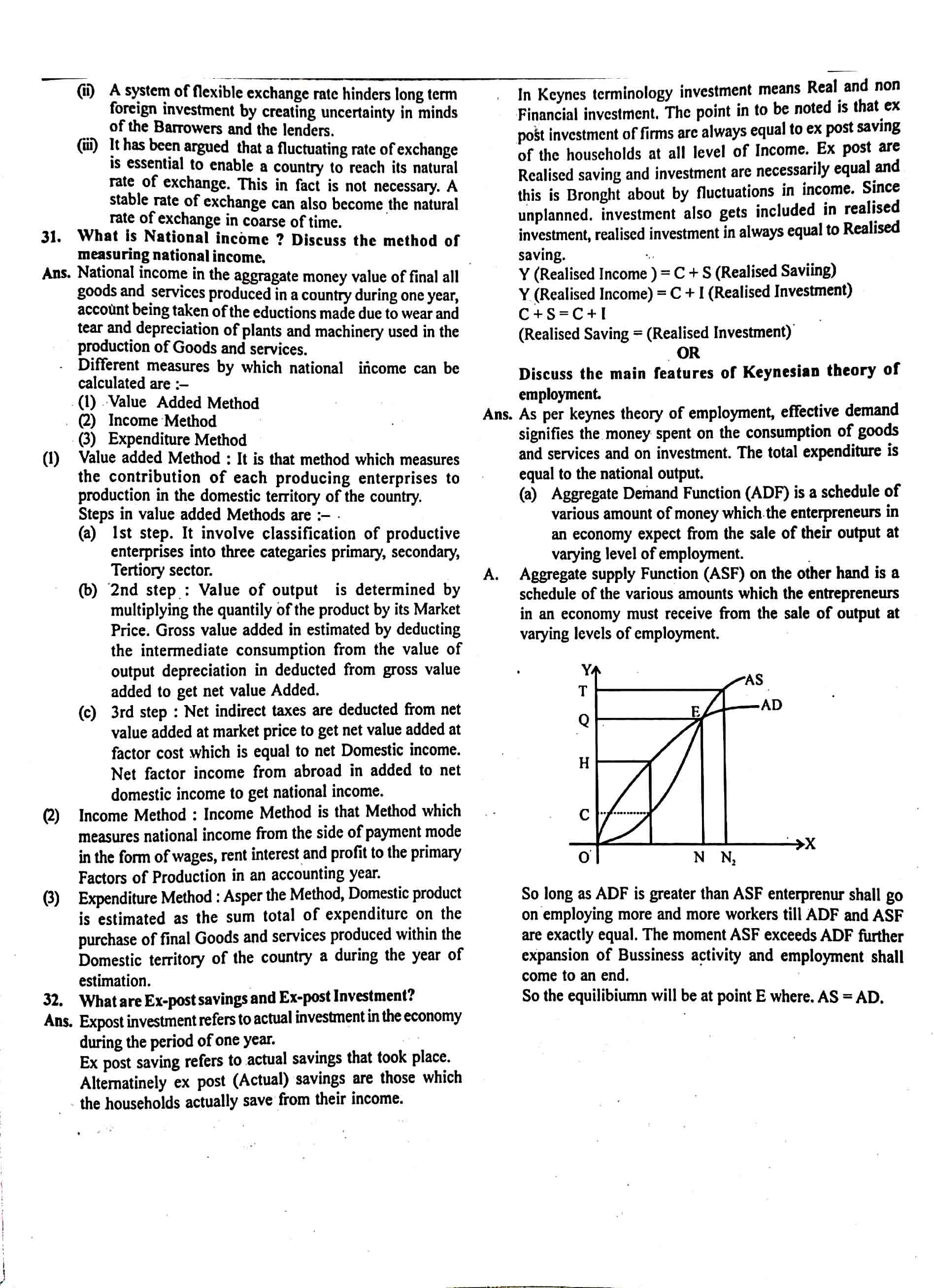 JAC Class 12 economics 2018 Question Paper 05