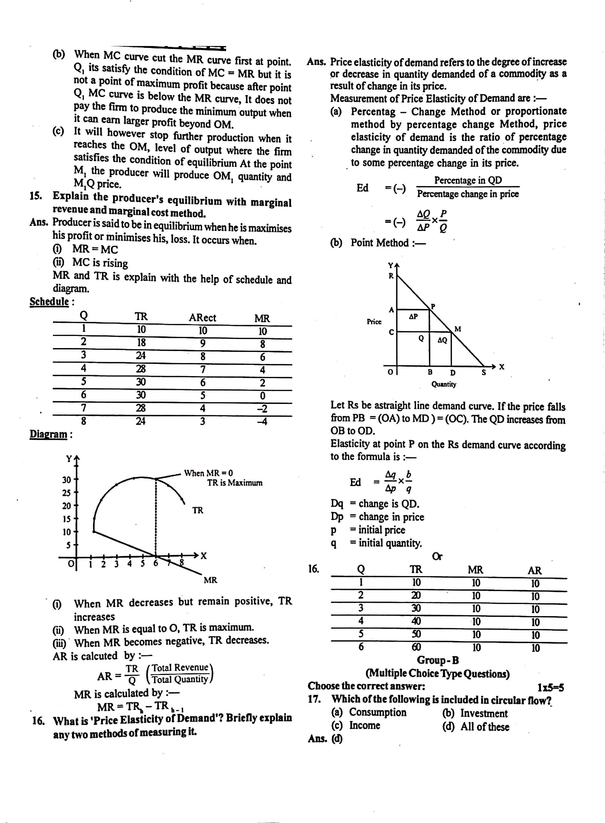 JAC Class 12 economics 2019 Question Paper 03