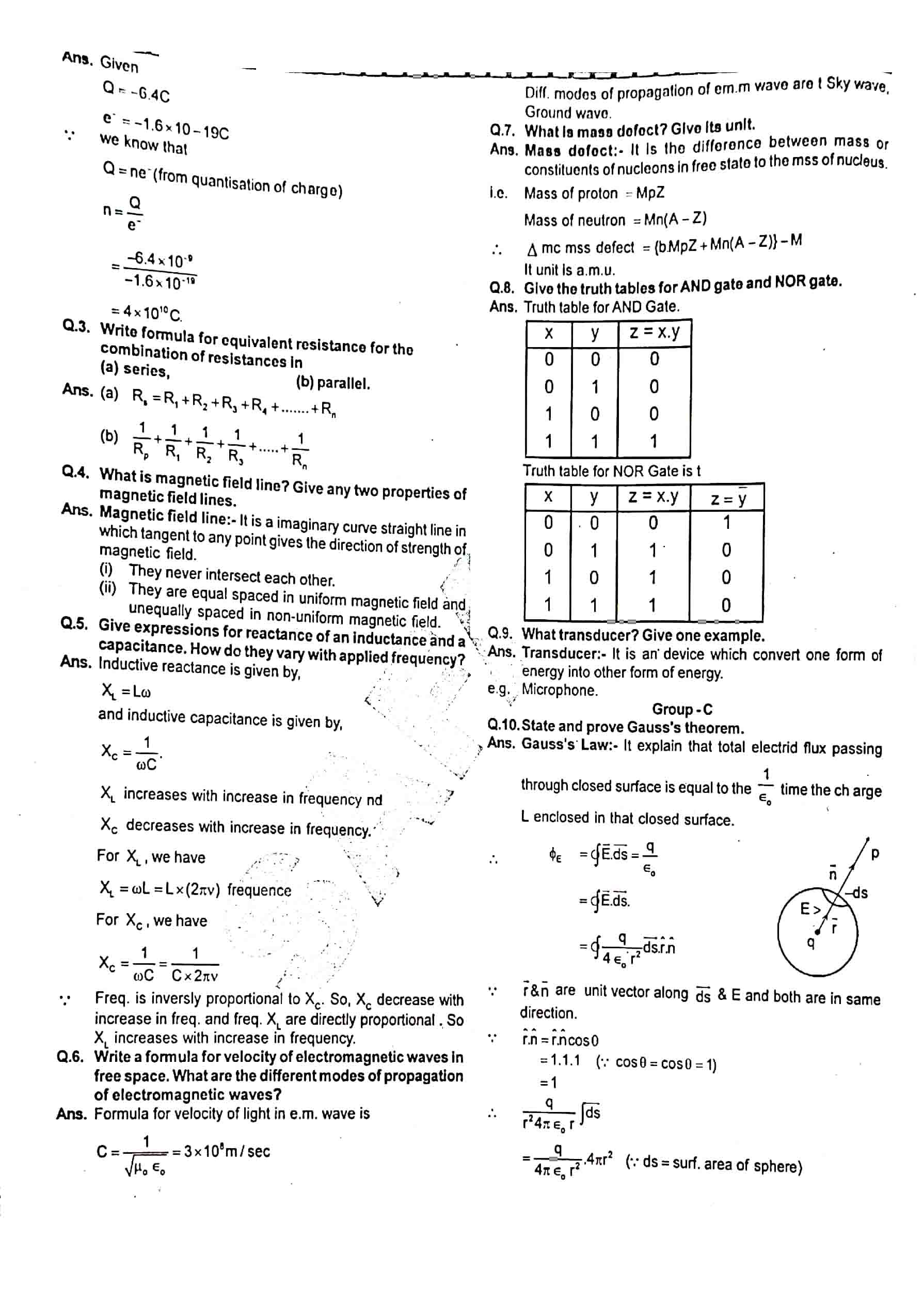 JAC Class 12 Physics 2014 Question Paper 02