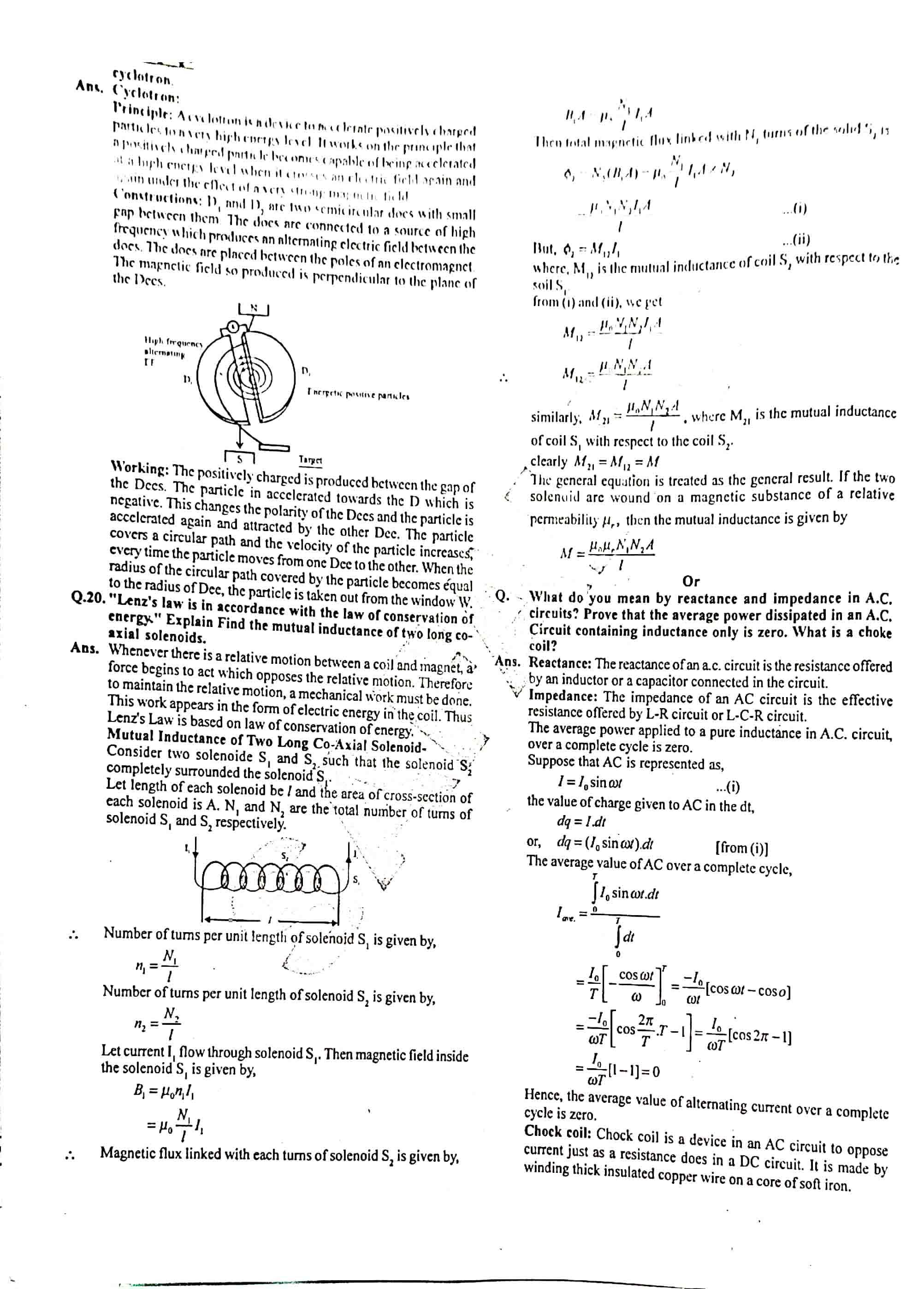 JAC Class 12 Physics 2015 Question Paper 05
