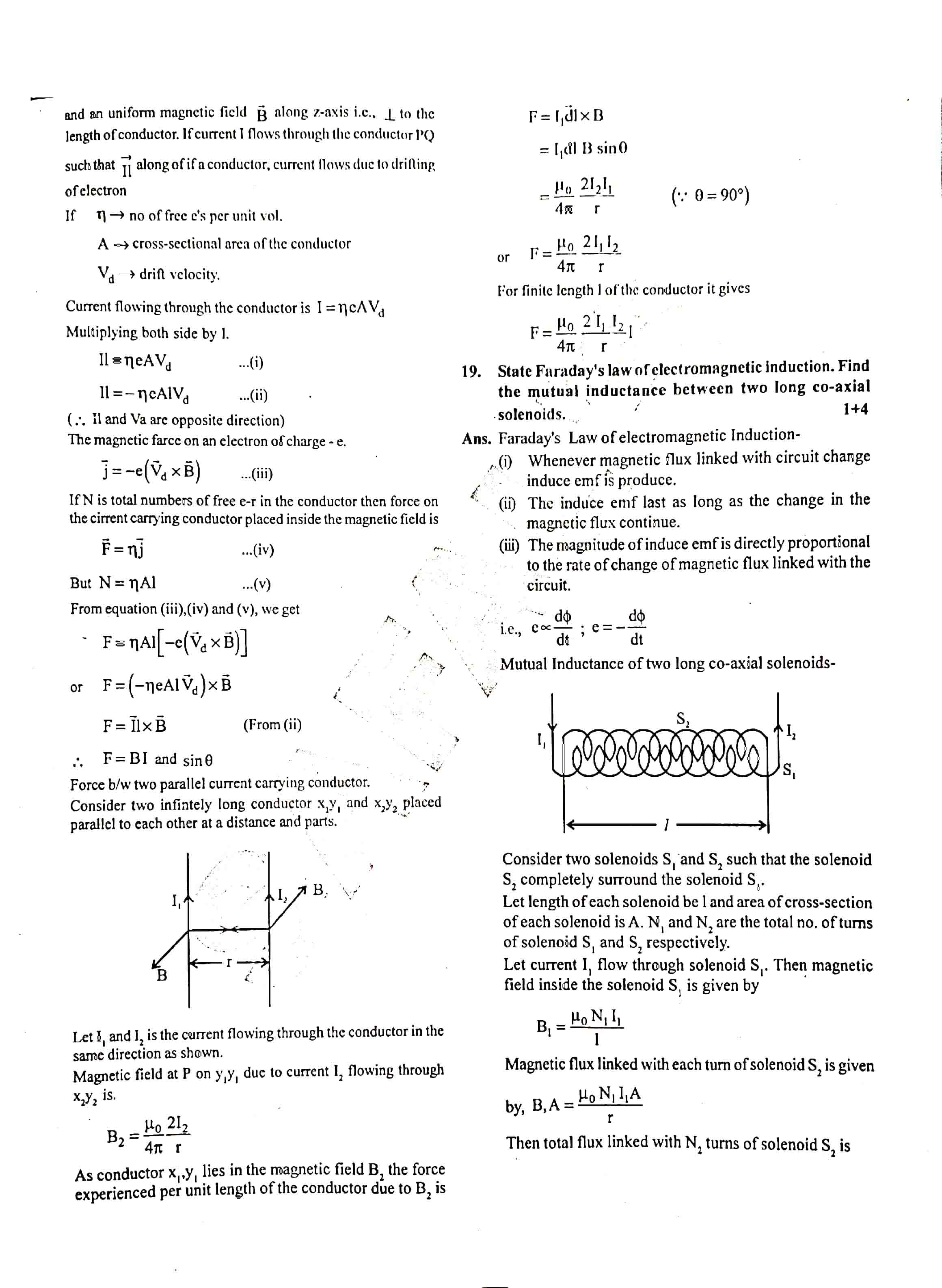 JAC Class 12 Physics 2019 Question Paper 06